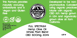 Pint 8000 Mg Full Spectrum Tincture