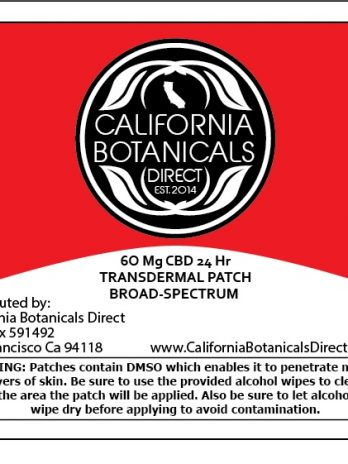Transdermal Patch 60 mg CBD